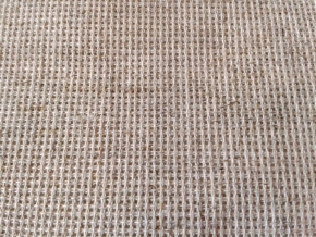 9С55В аппр. Ткань для вышивания, льняной, ш.150см (Канва 16 каунт)