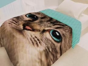 """Покрывало стеганое """"4 YOU"""" 145х200 Fun@Cute Cat хлопок 100%"""
