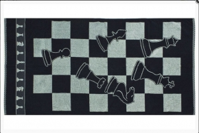 """4с82.070 """"Шахматы"""" Полотенце махровое 104х175см"""