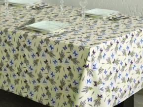 1739-БЧ (1076) Ткань х/б для столового белья набивная цв.4491-02, ширина 150см