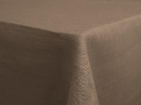 11С519-ШР Скатерть 100% лен 394 цв.серо-бежевый 150*150 см.