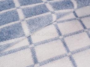 Одеяло хлопковое ОБ-420 140*205 клетка цв. серый