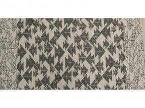 """17с356-ШР/у 56*110  полотенце """"Оригами"""" цв. 3 серый"""