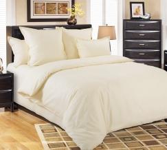 3308Н КПБ 2х-спальный сатин Молочный