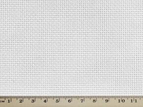 10С-409 аппр.2 Ткань для вышивания (пл.193 гр/м2), белый ш.150см (Канва 14 каунт)