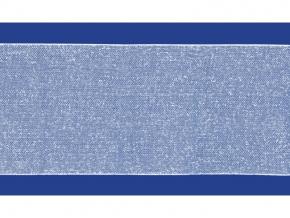 08С3528-Г50 ЛЕНТА ПРИКЛАДНАЯ для люверсов (с одност.сплош. клеем) белый 100мм (рул.50м)
