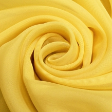 """Вуаль однотонная """"Шелли"""" SH 23/295 V  лимонный желтый, ширина 295 см"""