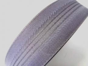 1С98-Г50 ЛЕНТА КОРСАЖНАЯ серый*12, 43мм (рул.50м)