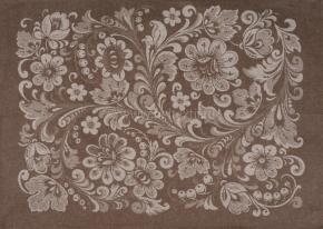 07с-39ЯК 50*70 Полотенце Хохлома цв. коричневый
