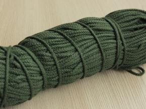 2мм. ШХ8-002-6 Шнур, D-2мм, х/б 100%, зеленый