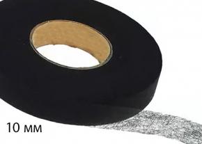 Паутинка клеевая 10мм, черный (рул.100ярд/91,44м). Цена указана за рулон
