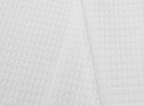 Полотенце вафельное банное 80*150 цвет белый