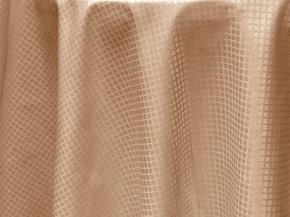 1954Д-01-1 Скатерть круглая 2304/060402 D150 цв.кофе с молоком