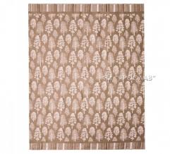 Одеяло хлопковое 170*205 жаккард 16/15 цвет бежевый