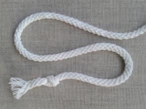5мм. ШХ8-005-2 Шнур, D-5мм, х/б 100%, белый