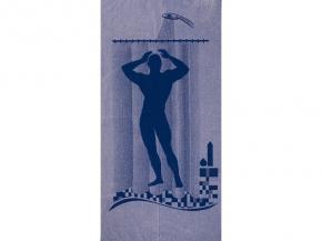 6с102.411ж1 Мужской душ Полотенце махровое 67х150см