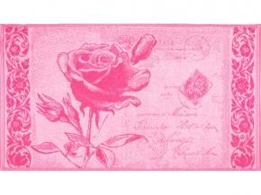7с103.416ж1 Роза на конверте Полотенце махровое 47х90см