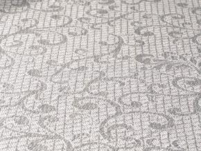 17с204-ШР 33*33 Салфетка жаккард цв. белый рис 36