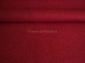 Ткань скатертная 17с4 ЯК (1419 ЯК) 506099 п/лен гладкокрашеный цв. 4,45 малиновый, ширина 150см