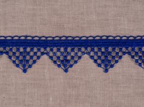 Кружево гипюр BRD 7793-6091/ш.4,5см, синий