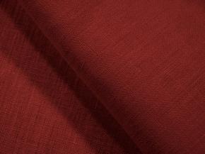 Ткань арт 186055 п/лен гл/кр цв. 1607 Красное превосходство, ширина 150см
