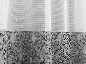 1.55м Д84АГ/155 ПОЛОТНО ГАРДИННОЕ белый с серым