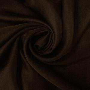 """Вуаль однотонная """"Шелли"""" 70 - темно-коричневый RS 2070/300 V ширина 300 см"""