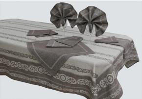 15с266-ШР/уп.155х250 Комплект столовый Камила цвет 75 шоколад