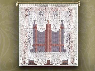 11С6462-Г50 ЗАНАВЕСКА белый 1.60*1.70м