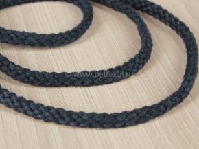 6мм. ШХ8-006-5 Шнур, D-6мм, х/б 100%, синий