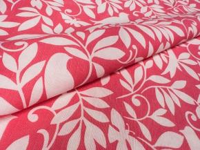 Ткань бельевая арт 175014п/л отб.наб 150 см рис 55-17/1 Птицы розовые