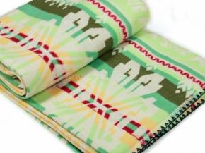 Одеяло хлопковое 200*205 жаккард  37/13  цв.зеленый
