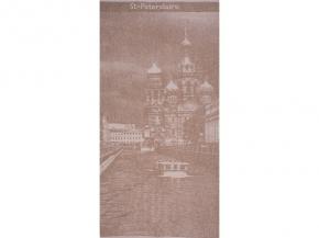 "6с102.511ж2 ""Петербург"" Полотенце махровое 67х150см Лен+х/б"
