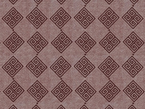 "Интерьерная ткань Меланж арт. 341МАПС гр рис. 6847/1 ""Меандр"" коричневый, 220см"