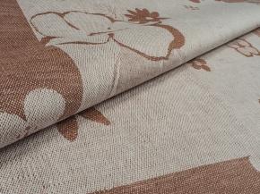 06С22-ШР 50*70 Полотенце  Евдокия цвет 16 коричневый