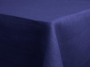 11С519-ШР 150*120 см.Скатерть 100% лен 1318 437 цвет василек