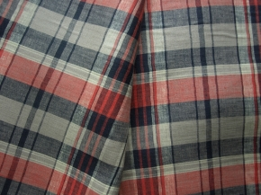 03С68-ШР/пн.+Х+У 2/111 Ткань сорочечная, шир.150, лен-100