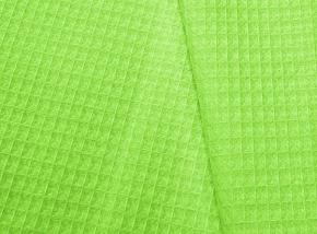 Полотенце вафельное банное 80*150 цвет салатовый