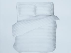 """4640-БЧ комплект евро """"Полоса"""" цв. белый"""