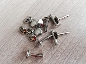 Хольнитен (заклёпка) 9х15х10х3мм, никель (уп.100шт)