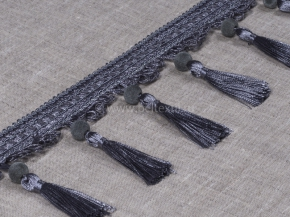 Бахрома Ajur QX B2-5 (25m) серый