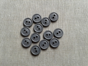 Пуговицы АП 11/2 двухсторонняя, серый*807 (уп.1000шт)