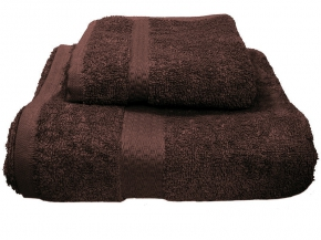 Полотенце махровое Amore Mio GX Classic 70*140 цв. коричневый