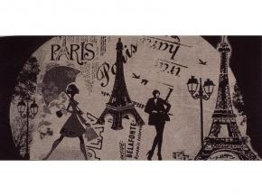 6с102.411ж1 Мечты о Париже Полотенце махровое 67х150см
