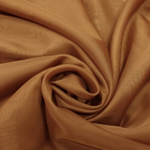 """Вуаль однотонная """"Шелли"""" SH 53A/295 V золотисто-коричневый, ширина 300 см"""