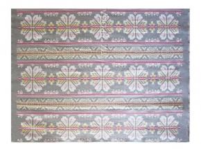 Одеяло хлопковое 140*205 жаккард 37/08 цвет серый с розовым