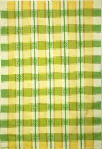 "06С22-ШР 50*70 Полотенце ""Маргаритка"" цв.8 зел."