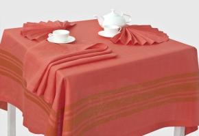 15с367-ШР/уп.150х250 Комплект столовый цвет 1188 коралл