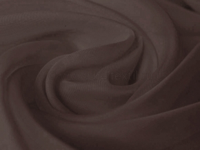 Вуаль однотонная T RS lux-170/300 V какао, ширина 300см