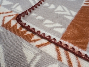 Одеяло хлопковое 140*205 жаккард 11/30 цв.серый